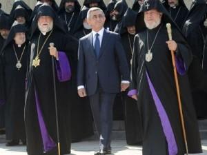 Саргсян и два католикоса