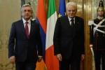 Главы Армении и Италии
