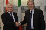 Главы МИД Армении и Италии