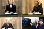Президенты России, Франции, Сербии и Кипра