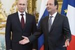 Путин и Олланд
