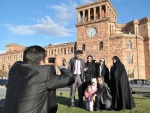 Туристы из Ирана