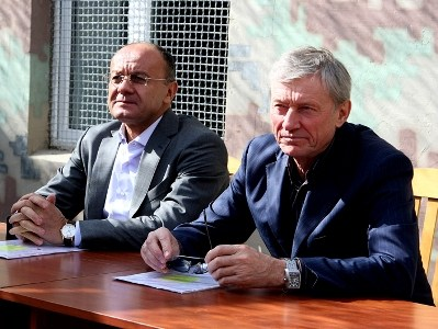 Николай Бордюжа и Сейран Оганян