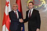 Президент Армении и премьер Грузии