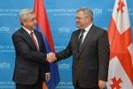 Серж Саргсян и Давид Усупашвили