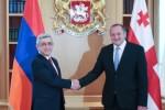 президенты Армении и Грузии