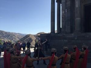 О'Брайен в Армении