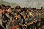 Повстанцы-курдиянки