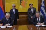 Главы МИД Армении и Греции