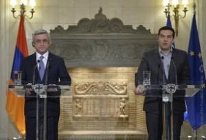 Саргсян и Ципрас