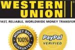 Western Union и PayPal