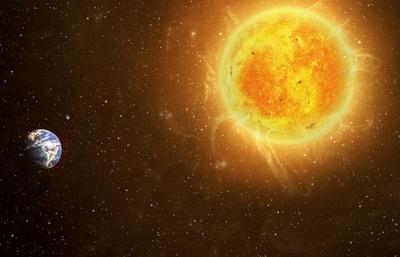 солнце и земля