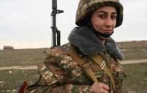 женщины в ВС Армении