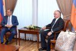 Главы МИД Армении и России