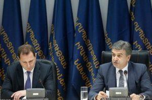 Давид Тоноян и Карен Карапетян