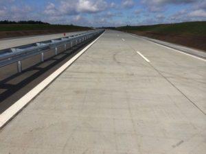 бетонная трасса