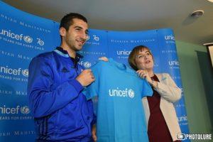 Генрих Мхитарян UNICEF