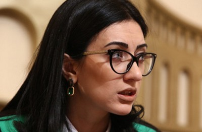 Глава делегации Армении Арпине Ованнисян избрана вице-председателем ПАСЕ
