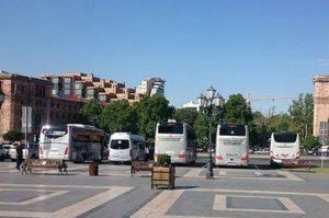 автобусы Ереван