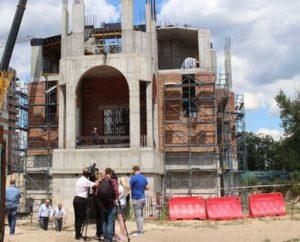 стройка церкви