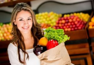 продукты для женщин