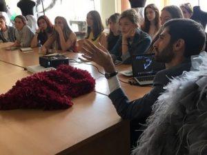 Гайк Аванесян и студенты