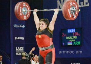 Армянская тяжелоатлетка Арпине Далалян стала чемпионкой Европы