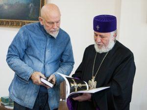 Малкович и Католикос