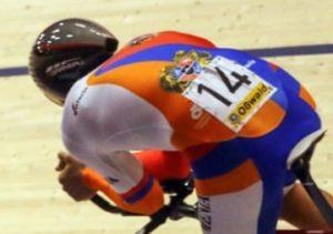 Велосипедист сборной Армении Эдгар Степанян удачно дебютировал на Чемпионате Европы