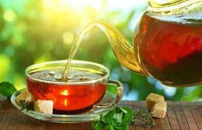Чёрный чай помогает освободиться от избыточного веса