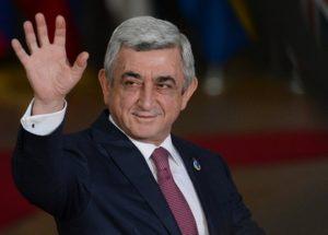 Президент Серж Саргсян