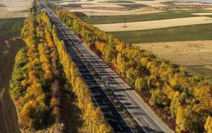 дорога в Армении