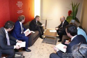Премьер РА и Президент Швейцарии
