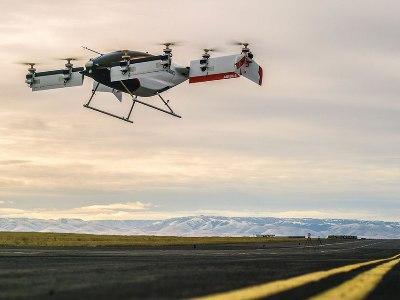 Airbus впервый раз испробовал воздушное беспилотное такси