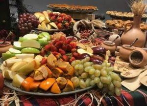 сладкий стол в Армении