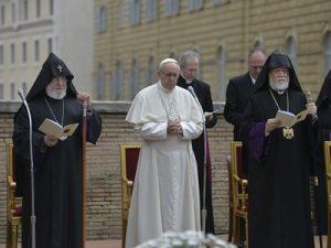Католикосы и Папа Римский