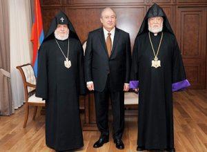 Католикосы и президент