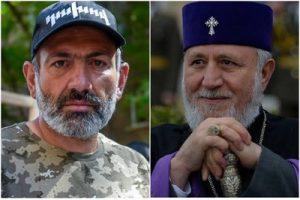 Пашинян и Католикос