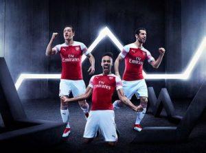 Генрих Мхитарян – на постере новой формы «Арсенала»