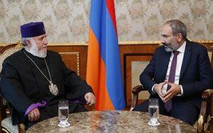 Католикос и Пашинян