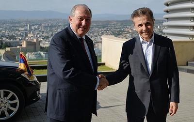 Саркисян и Иванишвили