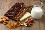 шоколад и молоко