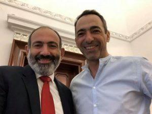 Пашинян и Джоркаефф