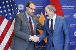 Посол и Пашинян