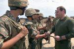 министр и солдаты