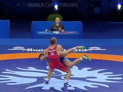 Армянский спортсмен Артур Шагинян взял «бронзу» на ЧМ-2018 (видео)
