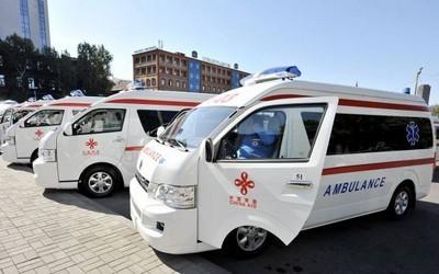 Китай подарил Армении 200 машин скорой помощи