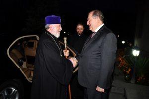 Католикос и Президент
