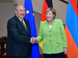 Саркисян и Меркель