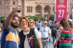 туристы из Индии